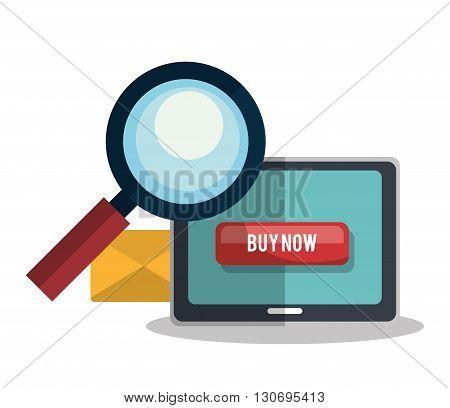 shopping online design, vector illustration eps10 graphic
