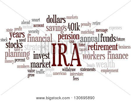 Ira, Word Cloud Concept
