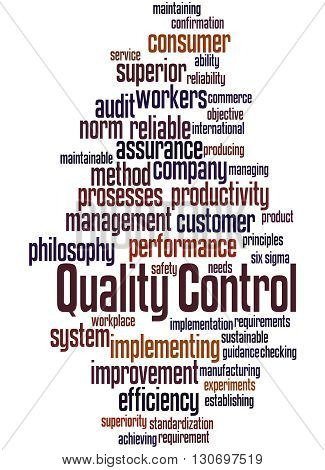 Quality Control, Word Cloud Concept 8