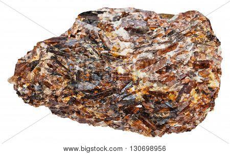 Crystals Of Titanite (sphene, Calcium Titanium)