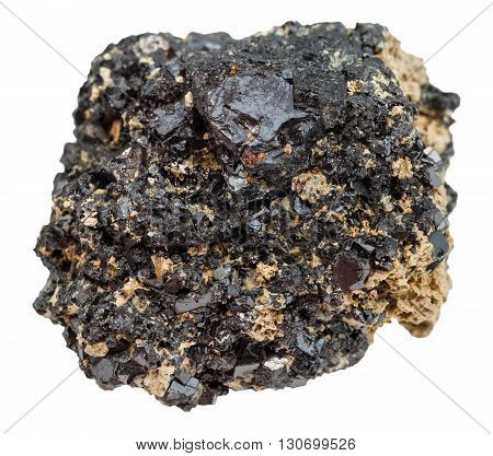 Perovskite Rock Isolated On White