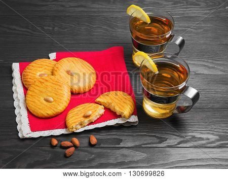 Almonds Cookies Food Photo