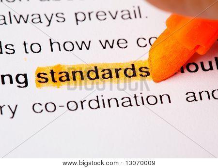 Standards
