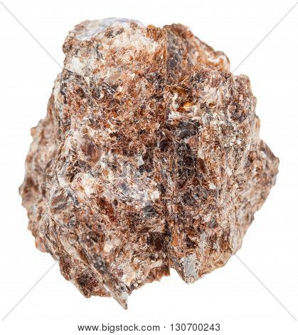 Piece Of Phlogopite (magnesium Mica) Isolated