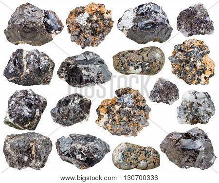 Set Of Sphalerite (zinc Blende) Stones