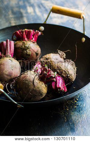 Organic Beet Vegetabe