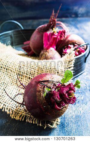 Fresh Organic Beets