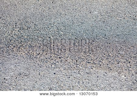 Road With Gravel