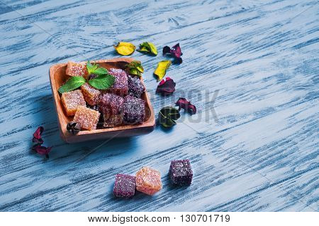 Berry Marmalade Jelly Cubes