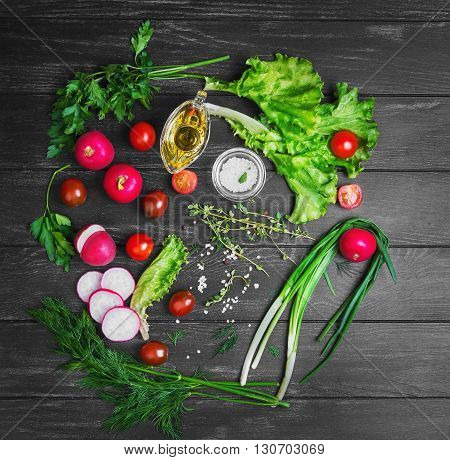 Vegetable Salad Food Photo