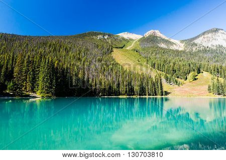 Emerald Lake, Yoho National Park, British Columbia, Canada