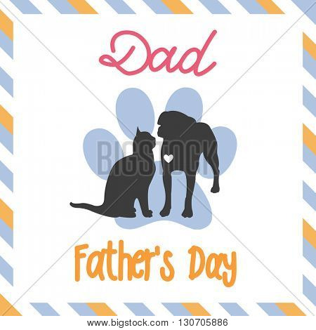 Sweet card for Fathers Day