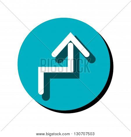 arrow sign design, vector illustration eps10 graphic