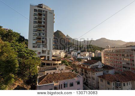 Apartments and Houses Between the Hills of Rio de Janeiro in Laranjeiras Neighborhood