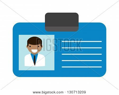 Id corporate identity identifier medicine doctor id and vector doctor id card. Medical health doctor id and clinic symbol doctor id. Doctor id identification blank physician professional modern tag.
