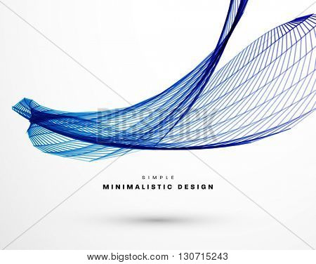 Geometric Vector Wave for Presentation, Annual Reports, Brochures, Leaflets, Posters, Business Cards and Documents Cover Pages Design