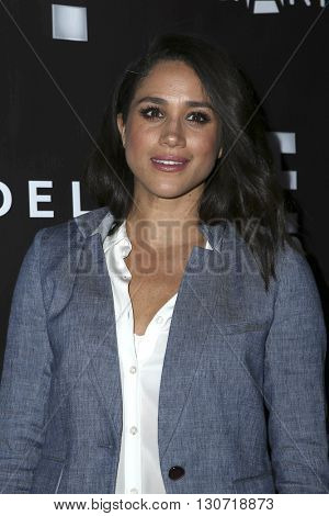 LOS ANGELES - MAY 20:  Meghan Markle at the PS Arts - The Party at NeueHouse Hollywood on May 20, 2016 in Los Angeles, CA