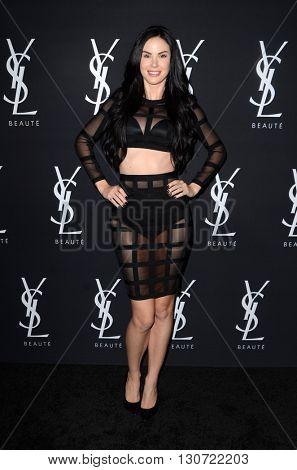 LOS ANGELES - MAY 19:  Jayde Nicole at the Zoe Kravitz Celebrates Her New Role With Yves Saint Laurent Beauty at Gibson Brands Sunset on May 19, 2016 in West Hollywood, CA