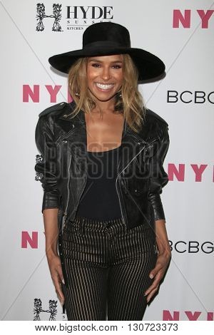 LOS ANGELES - MAY 12:  Melody Thornton at the NYLON Young Hollywood May Issue Event at HYDE Sunset on May 12, 2016 in Los Angeles, CA