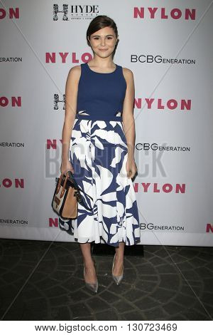 LOS ANGELES - MAY 12:  Olivia Giannulli at the NYLON Young Hollywood May Issue Event at HYDE Sunset on May 12, 2016 in Los Angeles, CA