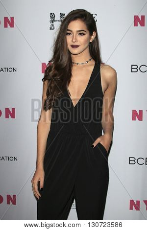 LOS ANGELES - MAY 12:  Sammi Sanchez at the NYLON Young Hollywood May Issue Event at HYDE Sunset on May 12, 2016 in Los Angeles, CA