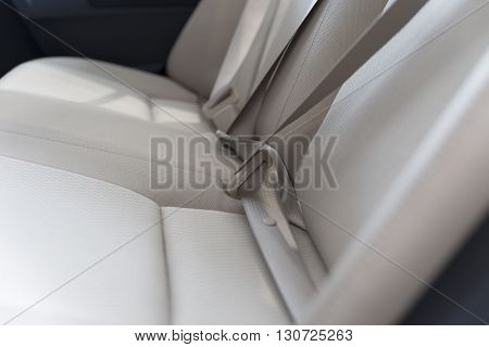 New Fabric Passenger Backseat In Car