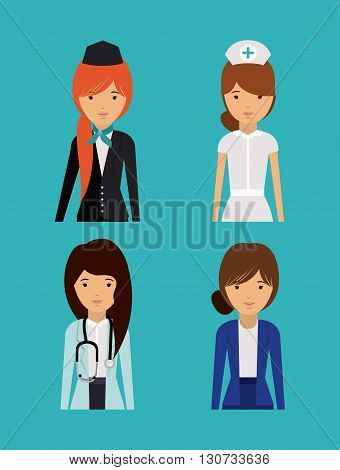 professional women design, vector illustration eps10 graphic