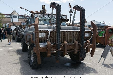 Post-apocalyptic Survival Truck