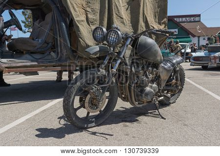 Post-apocalyptic Survival Motorcycle