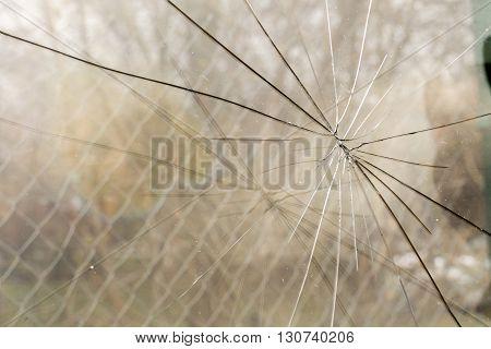 Broken Glass Background