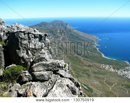 Peninsula, From Table Mountain, Cape Town South Africa