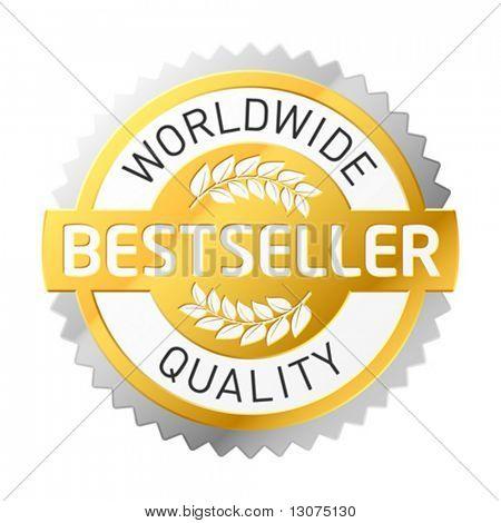 """Vector """"Bestseller"""" label"""