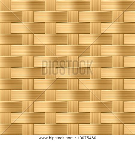 Wicker pattern. Seamless vector.