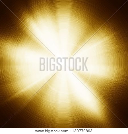abstract gold metal with light background