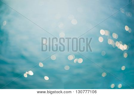 The Blurred sea background Nature abstract background