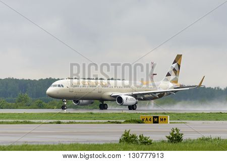 Etihad Airlines Airbus A321 Take Off