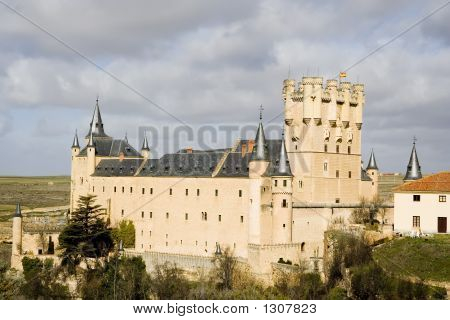 Alcazar Of Segovia Back