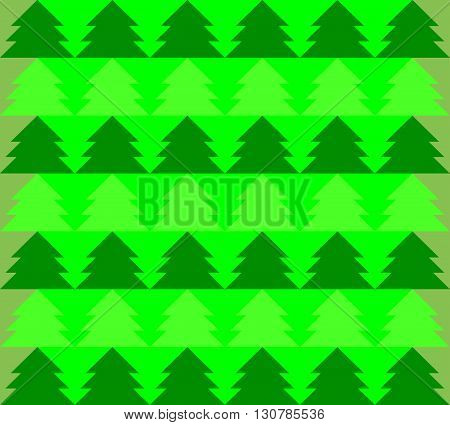 Christmas tree Forest seamless pattern background vector. Christmas tree vector. Christmas tree Forest vector. Forest seamless pattern vector. The patchwork or quilt. Quilt pattern vector.