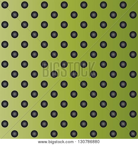 High resolution concept conceptual green metal stainless steel aluminum perforated pattern texture mesh background