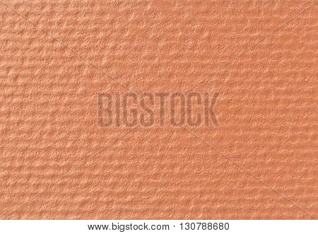 Brown gypsum and cement wall for background and texture.