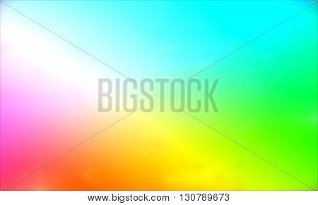 Background paint stains multicolored smoke. Watercolor smoky. Watercolor background. Pink-blue-green-yellow color.