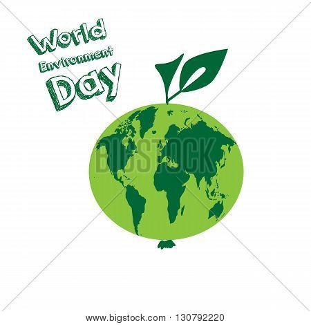 World Environment Day. Vector illustration EPS 10