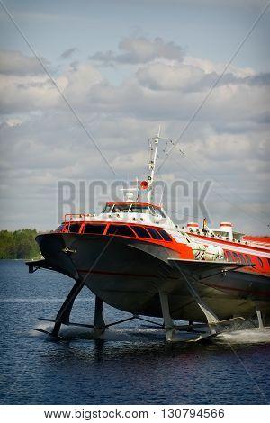 Hydrofoil Boat