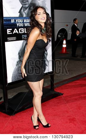 Megan Fox at the Los Angeles premiere of 'Eagle Eye' held at the Grauman's Chinese Theater in Hollywood, USA on September 16, 2008.