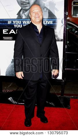 Michael Chiklis at the Los Angeles premiere of 'Eagle Eye' held at the Grauman's Chinese Theater in Hollywood, USA on September 16, 2008.