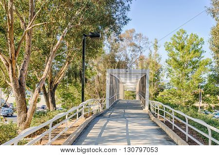Bike Path To Bridge