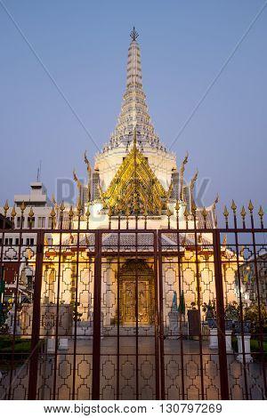 Shrine of the City Pillar in BangkokThailand.