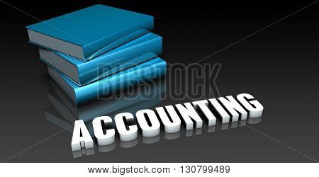 Accounting Class for School Education as Concept 3d Illustration Render
