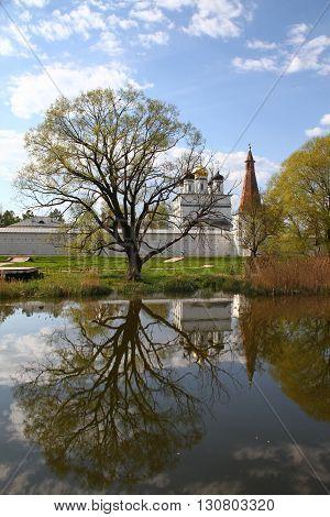 Joseph-Volokolamsk Monastery in Teryaevo. Russia, Moscow region