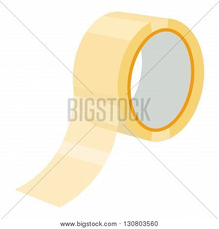 adhesive tape vector illustration isolated on a white background